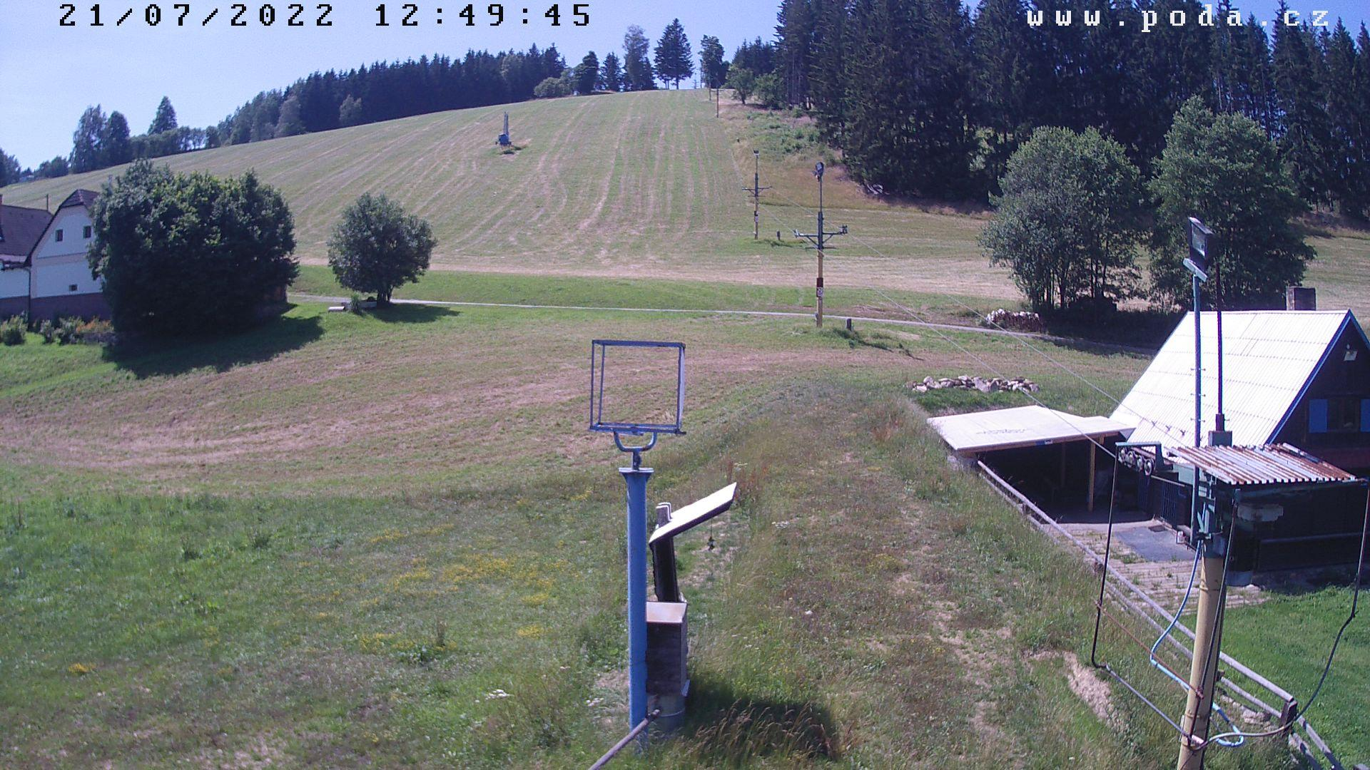 Webkamera ve SKI areálu v Jimramově