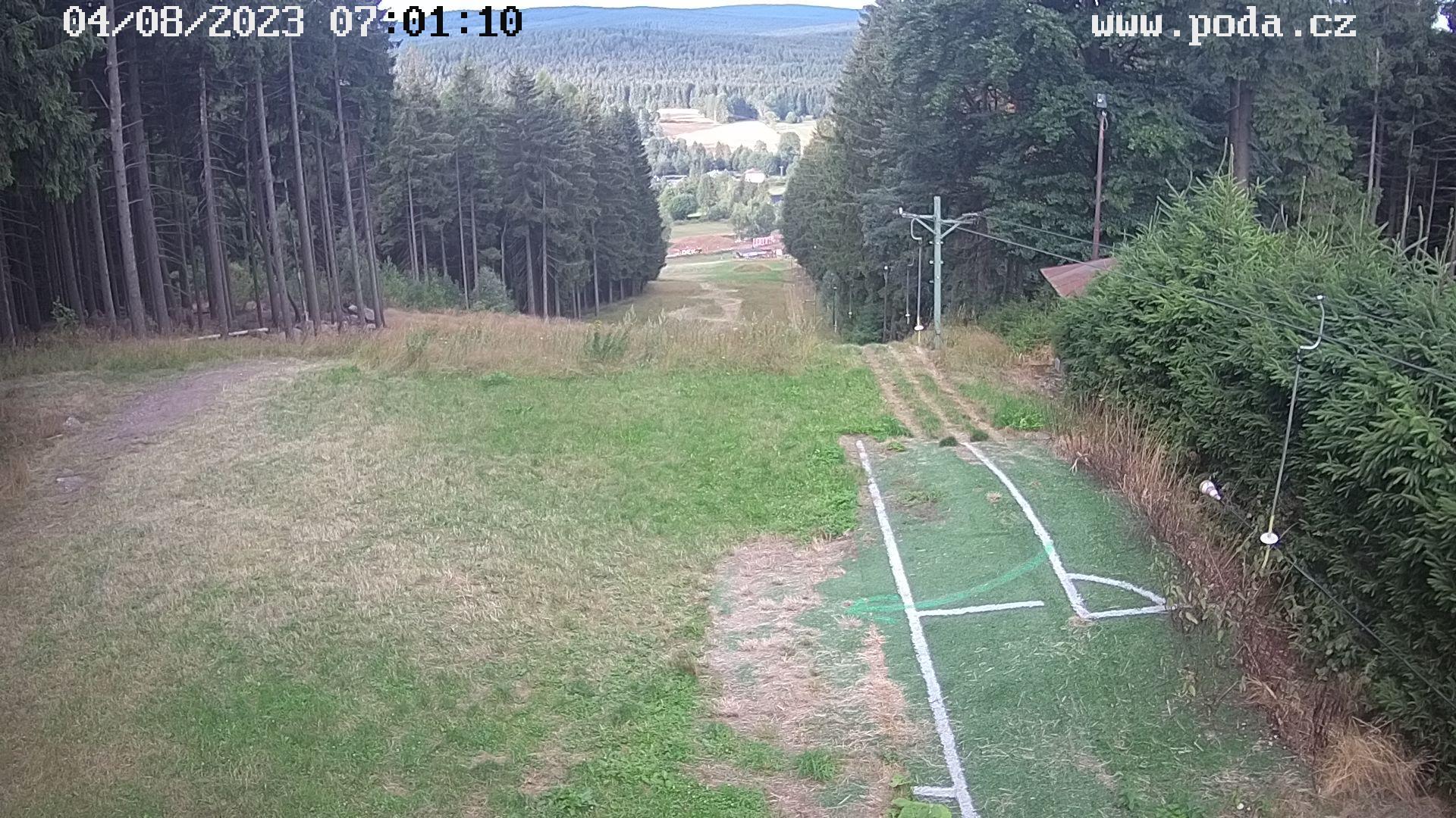 Webkamera na lyžařském svahu SKI Svratka